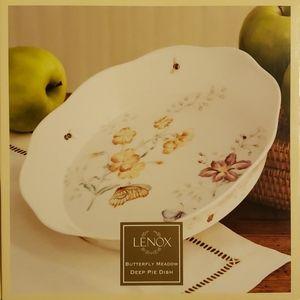 Lenox Butterfly Meadow Pie Dish